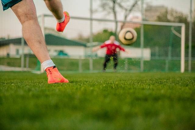 Football Shot On Goal Door Husband - Free photo on Pixabay (76201)