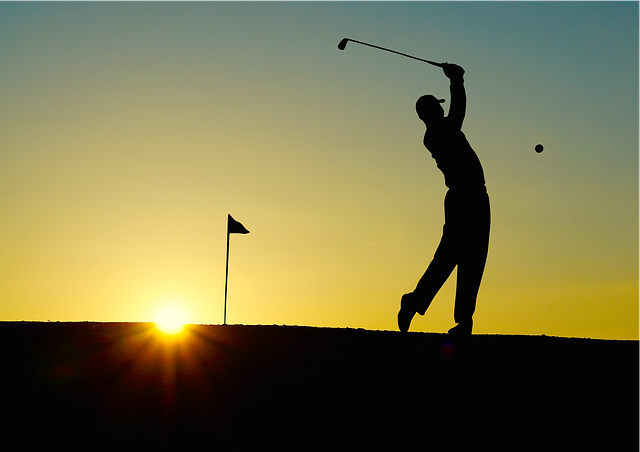 Golf Sunset Sport - Free photo on Pixabay (78672)