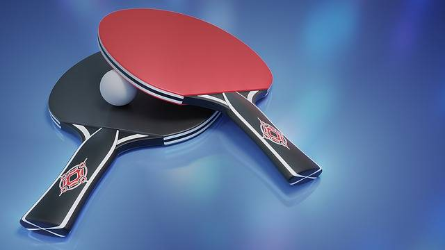 Table Tennis Ping-Pong Bat - Free image on Pixabay (79996)