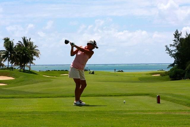 Golf Woman Tee - Free photo on Pixabay (80377)
