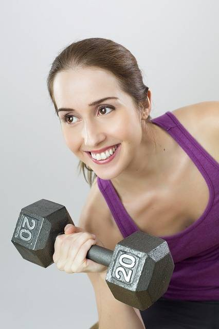 Exercise Weight Woman - Free photo on Pixabay (81182)