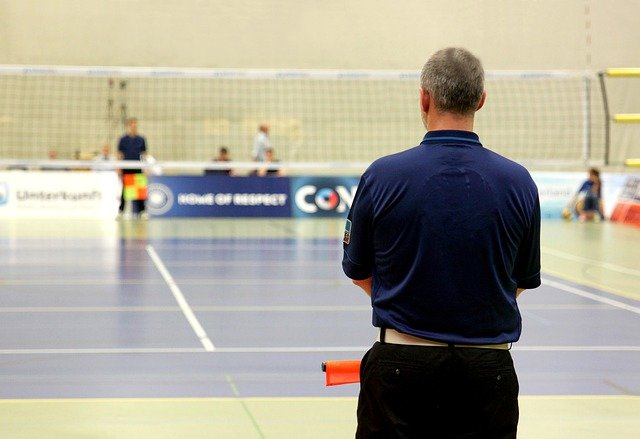Volleyball Sport Referee Court Of - Free photo on Pixabay (86747)