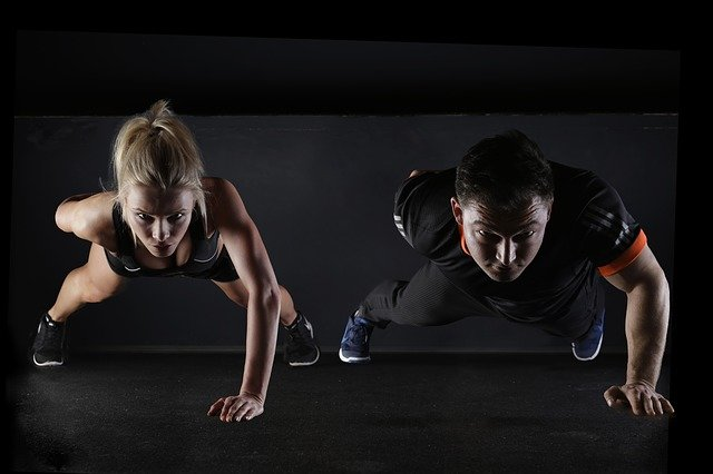 Sport Push-Up Strength Training - Free photo on Pixabay (86844)
