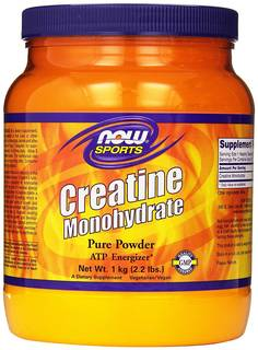 NOW Foods Creatine Powder, 2.2 Pounds 海外直送品 (18005)