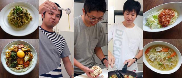 料理が苦手な男性必見!専門家直伝のインスタ映えする簡単&健康レシピに挑戦(パスタ&そうめん編)