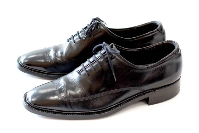 飯野さんのお父さんの形見の靴。