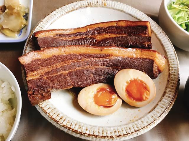 豚角煮定食 (1,000円)