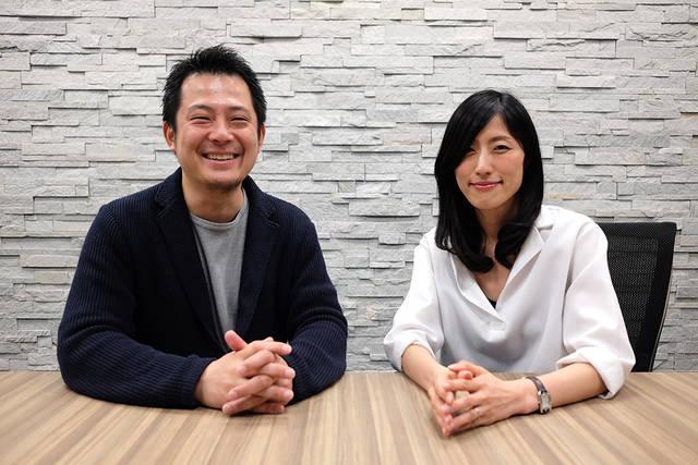 (左)経営管理部 人事グループ マネジャー 岡部さん、...
