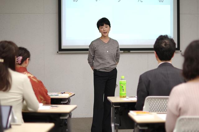 講師を務めていただいた日本テレビアナウンサー 豊田順子さん