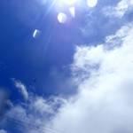 梅雨も明け、青空も綺麗…あれ?