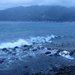 沖は白波が立ってます。