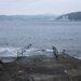 北東の風で沖に白波、ビーチは問題なし