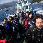 宇佐美でボートダイビング!☆