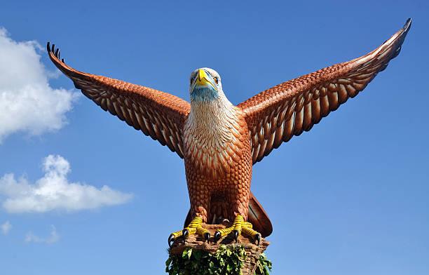 イーグルランカウイ島の像