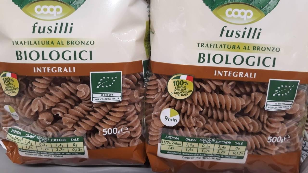 イタリア全土を網羅するスーパー「COOP」のオーガニックパスタ