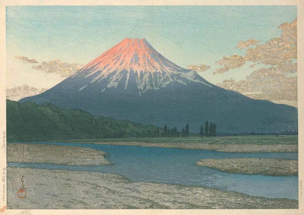 出典:国立国会図書館デジタルコレクション『川瀬巴水版画集』より