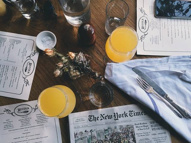 Free photo: Drinking Glasses, Drinks, Newspaper - Free Image on Pixabay - 1867210 (2096)