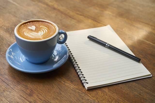 Coffee Pen Notebook · Free photo on Pixabay (24335)