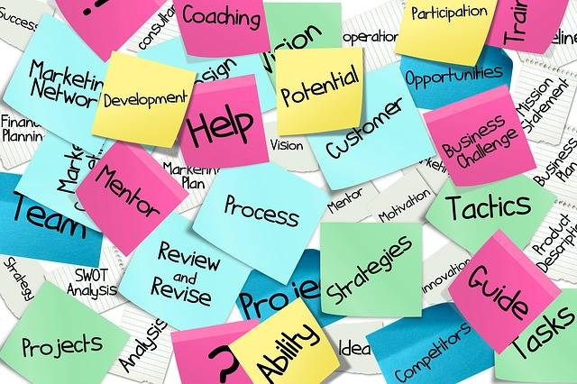 Bulletin Board Stickies Post-It · Free image on Pixabay (27261)