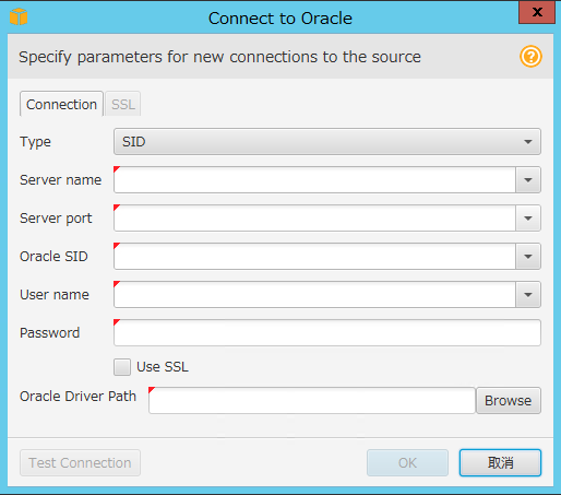 Connect to Oracle②