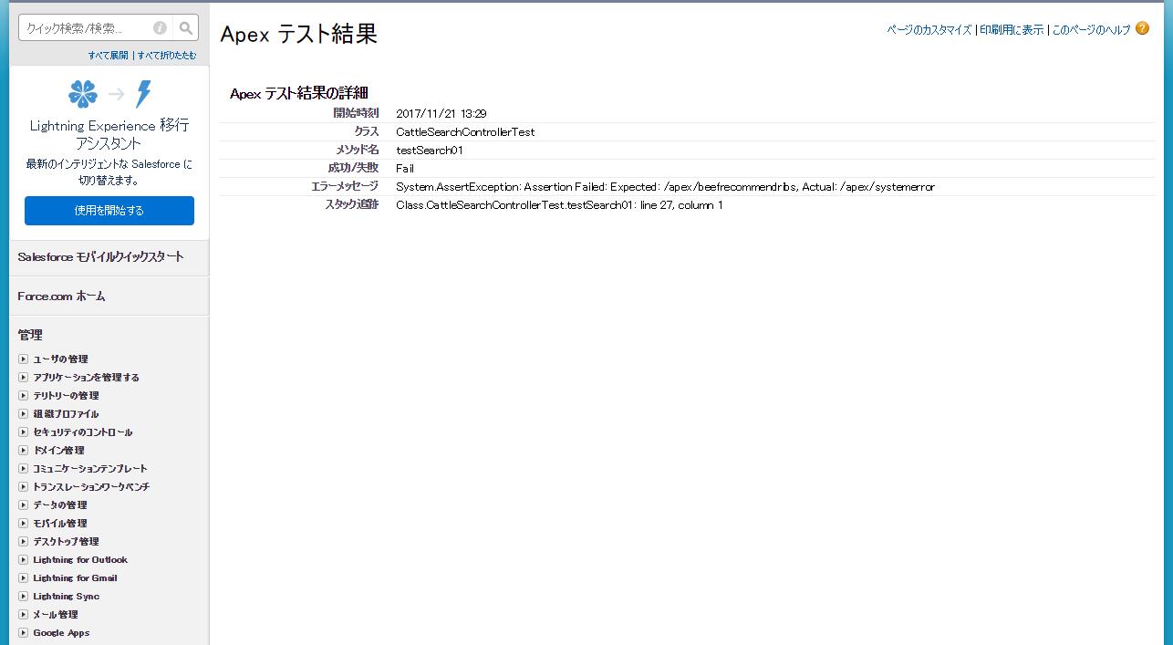 Apex スタブ API を使用してテストクラスを作成する - TerraSkyBase