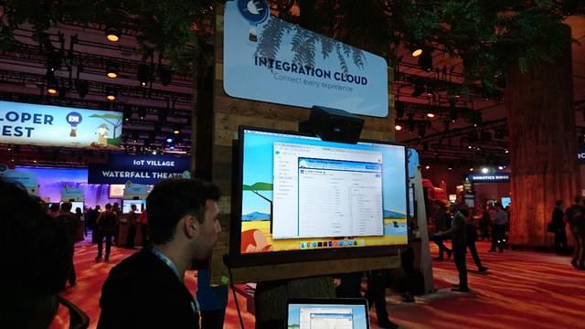 新サービスの Integration Cloud ブース