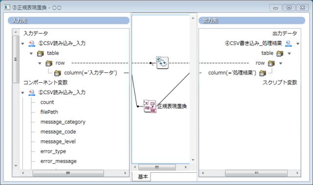 01.正規表現置換ロジック使用例① - Mapper配置例