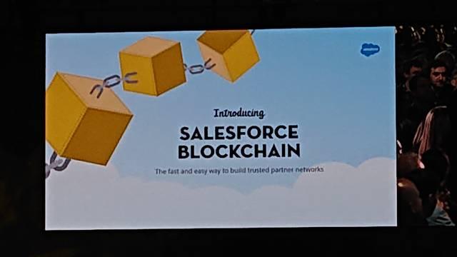 Salesforce Blockchain