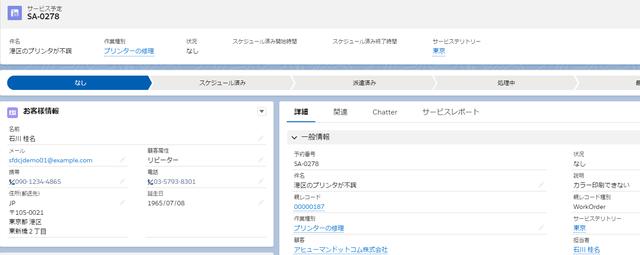 ③サービス予定のサービステリトリは東京のまま