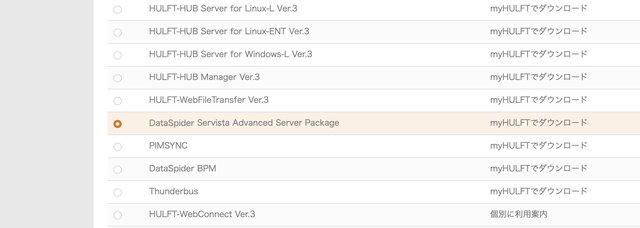 「DataSpider Servista Advanc...