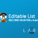 Editable List (Record Hunter's Add-on) - Salesforce Labs - AppExchange