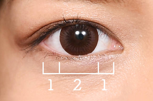 カラコン選びは瞳の黄金比率を知って理想の瞳をゲット