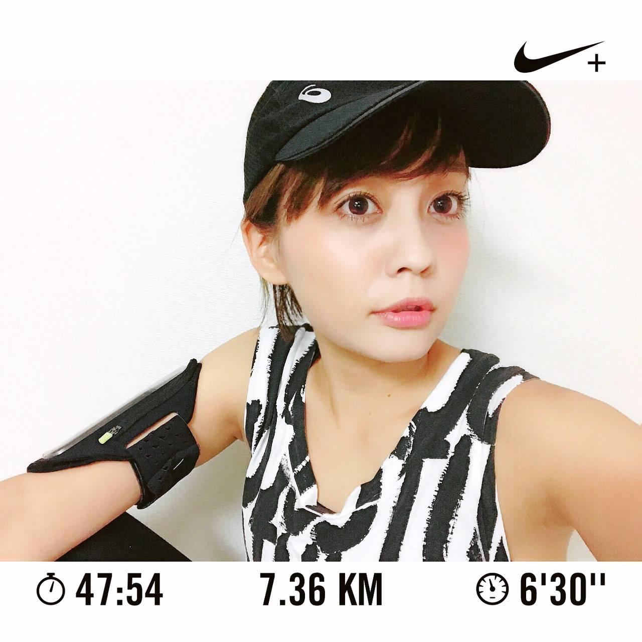 【蛭井千夏のスタイリング提案】最近、ランニングにハマってます♪