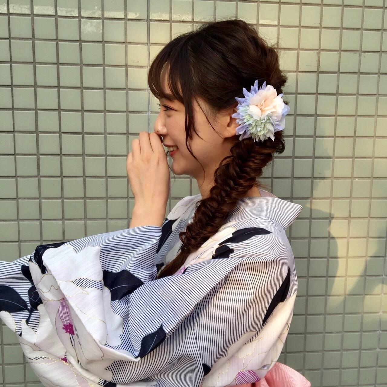日本の和を楽しむ!浴衣に似合うカラコンとは⁈