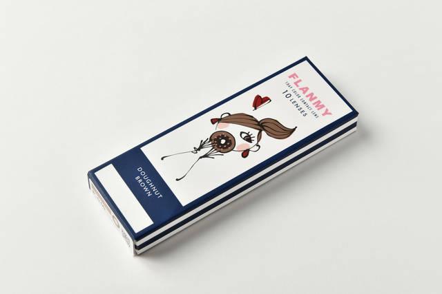 【フランミー ドーナツブラウンのカラコンレポ】旬のカフェラテメイクに合う♡ ナチュラルデカ目を叶えるブラウンカラコン