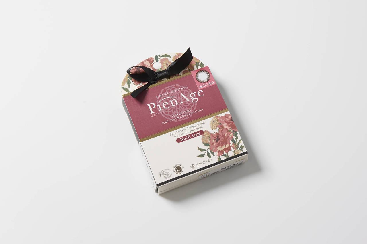 【ピエナージュ 01レーシーのカラコンレポ】香港での年越しはピエナージュのナチュ盛りブラウンカラコンで大人可愛く♡