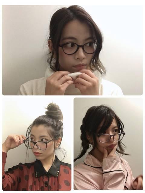 カラコン×メガネのシーン別おしゃれコーディネート♡