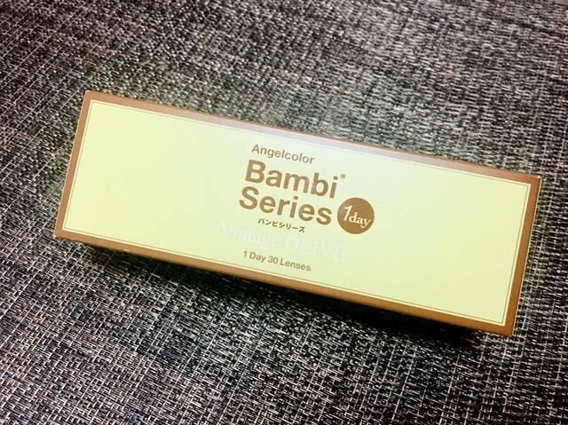 【バンビシリーズのカラコンレポ】すっぴん美人度アップ!? オリーブカラーのモテカラコン♡