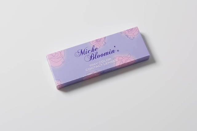【ミッシュブルーミン ヌーディーベージュのカラコンレポ】バースデーウィークは華やかなハーフ顔♪