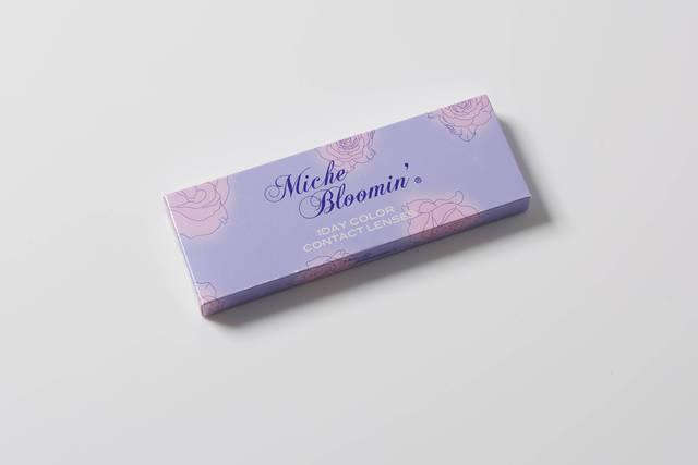 【ミッシュブルーミン クォーターヴェール ヌーディーベージュのカラコンレポ】バースデーウィークは華やかなハーフ顔♪