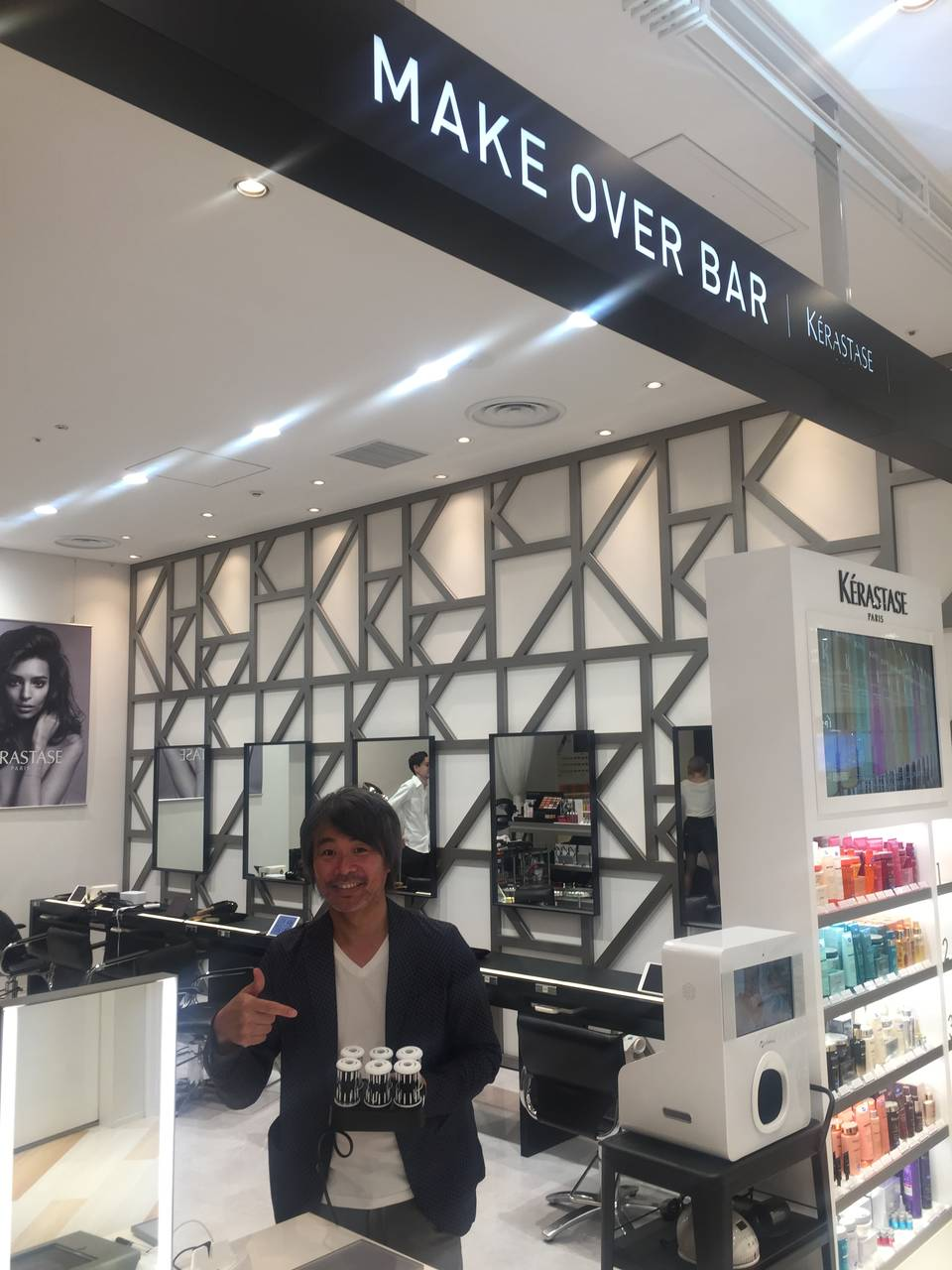 """NYの超一流スタイリスト""""Sei Hamada""""監修、ビューティーサロン「MAKE OVER BAR」で直毛ツヤ髪を手に入れる!"""