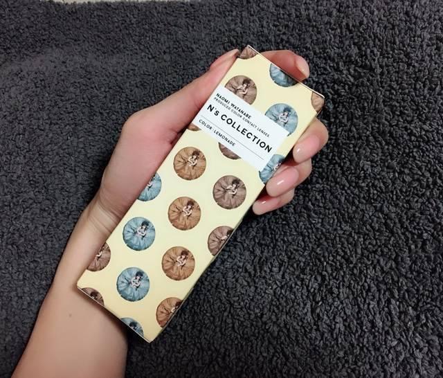 【N's collection レモネードのカラコンレポ】渡辺直美プロデュースのちゅるん系カラコンでインターナショナル顔になれる!?