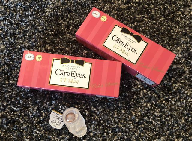 【ワンデーキャラアイ UVモイスト ブラウンブルームのカラコンレポ】ハワイウェディングに選んだカラコンはうるっとした瞳に見えるタイプ♡