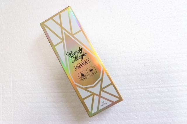 【キャンディー マジック アクア ピュアエトワールのカラコンレポ】2トーンの透け感ブラウンカラコンでアイラインいらずのナチュラルデカ目