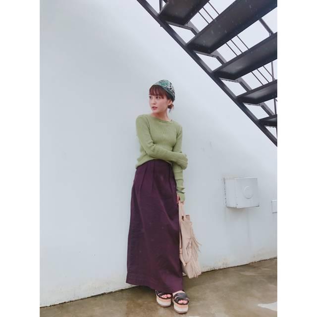 Sサイズスタイリスト蛭井千夏発!!トレンドのロングスカート攻略法♫