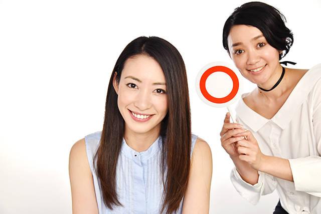 笑顔が素敵な女優の村田 綾さんがお手本です♡