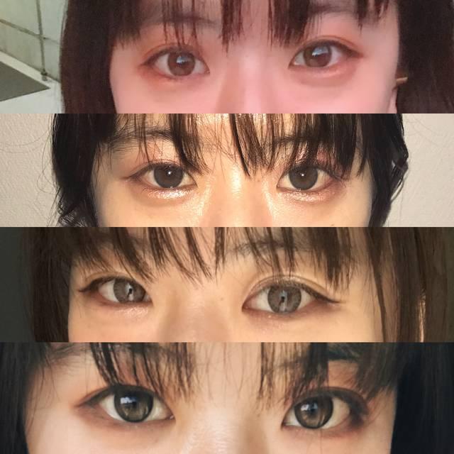 Wow!!! 瞳の印象が全然違う