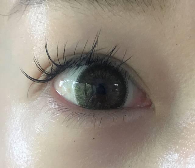 さすがDIA14.5mm!瞳がグンとサイズアップ