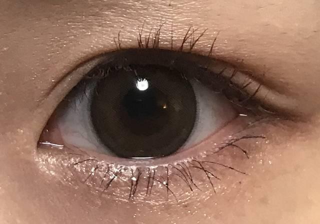 ちょっと大きいけど瞳にうるおいが出た💜