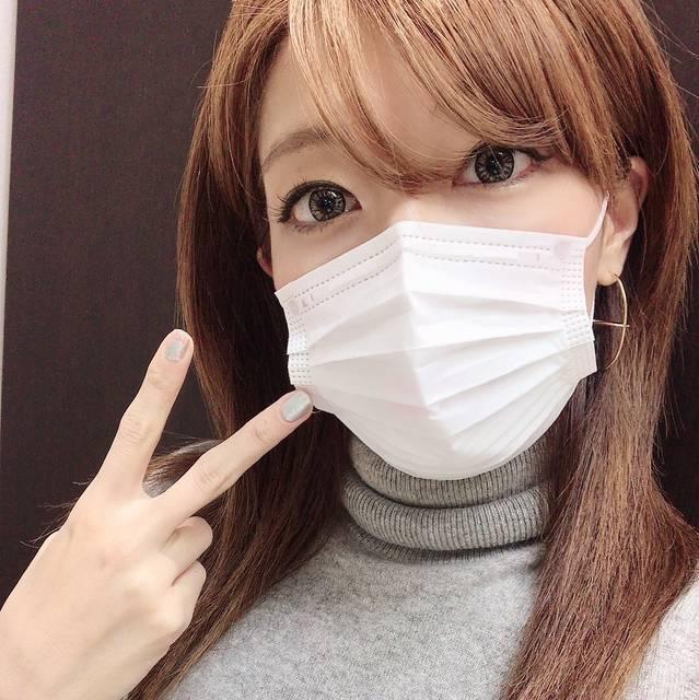 インフル大流行なので、マスクで予防!